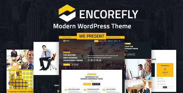 Test du thème WordPress Encorefly , voici notre avis