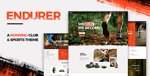 test Endurer - A Running Club and Sports Theme