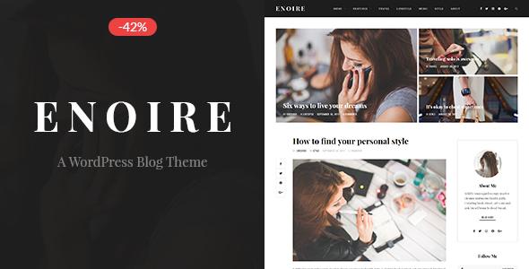 Test du thème WordPress Enoire , voici notre avis