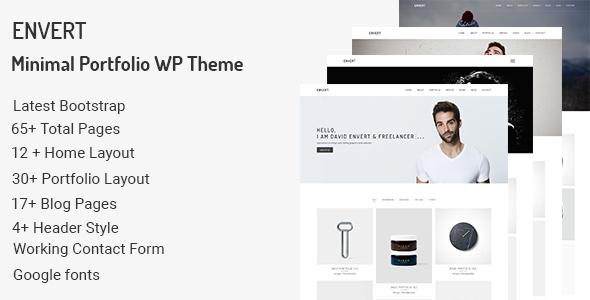 Test du thème WordPress Envert , découvrez notre avis