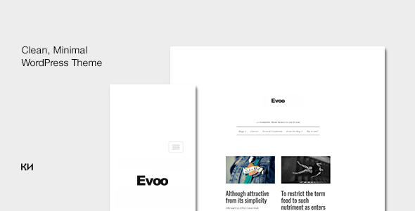 test Evoo - WordPress Theme for Bloggers
