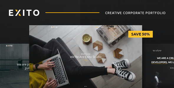 test Exito - Creative & Comfortable WordPress Theme