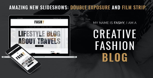 test Fashy - WordPress Fashion Blog Theme