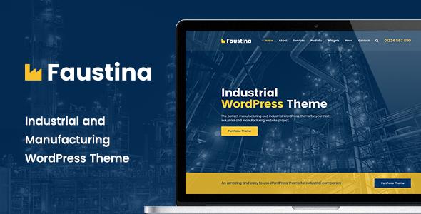 Test du thème WordPress Faustina , voici notre avis