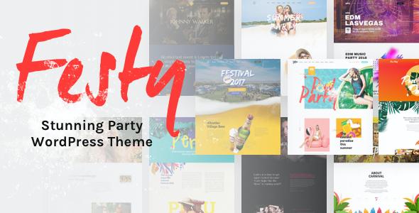 Test du thème WordPress Festy Event WordPress Theme , découvrez notre avis