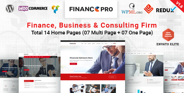 test Finance Pro - Finance Business & Consulting WordPress Theme
