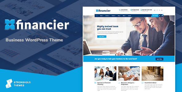 test Financier - Business WordPress Theme