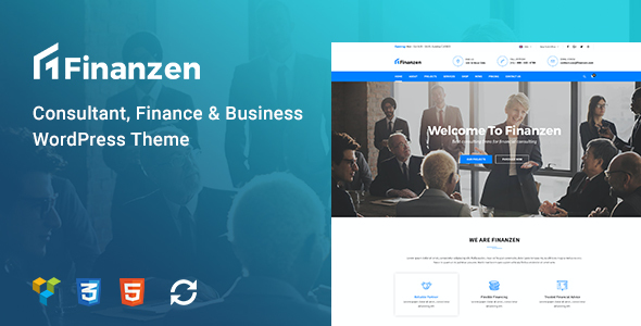test Finanzen - Consultant, Finance & Business WordPress Theme