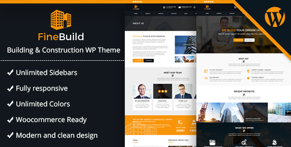 test Fine Build - Building & Construction WordPress Theme