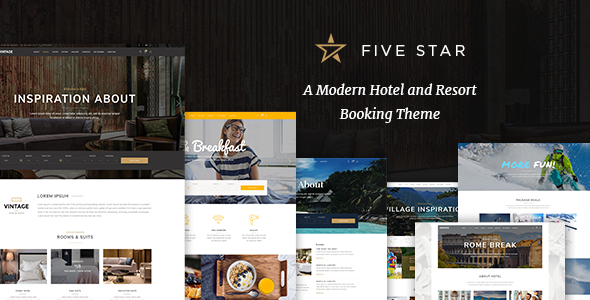 test FiveStar - A Modern Hotel and Resort Booking Theme