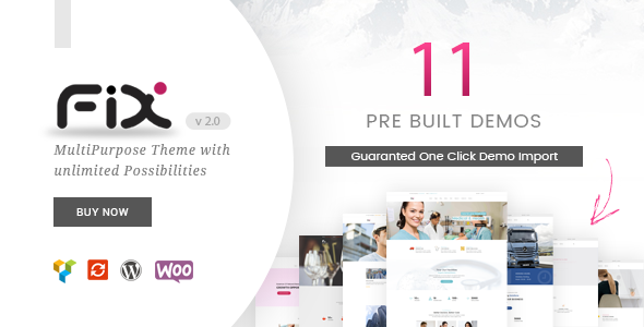test Fix - Responsive Multipurpose WordPress Theme