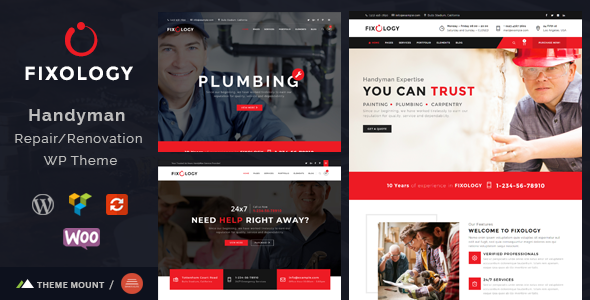 test Fixology | Handyman Multi-Service WordPress Theme