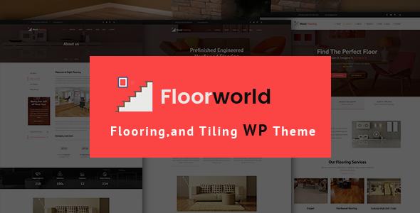 Test du thème WordPress Floorworld , voici notre avis