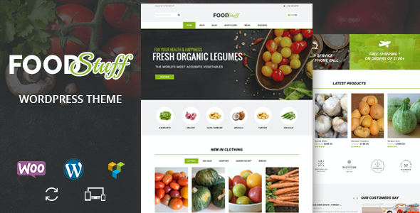 test Food Stuff - Multipurpose WooCommerce Theme