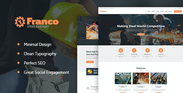 test Franco | Steel Factory WP Theme