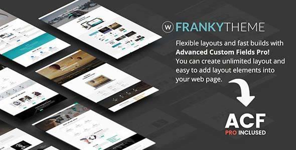 Test du thème WordPress Franky , découvrez notre avis