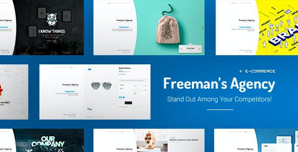 Test du thème WordPress Freeman , voici notre avis