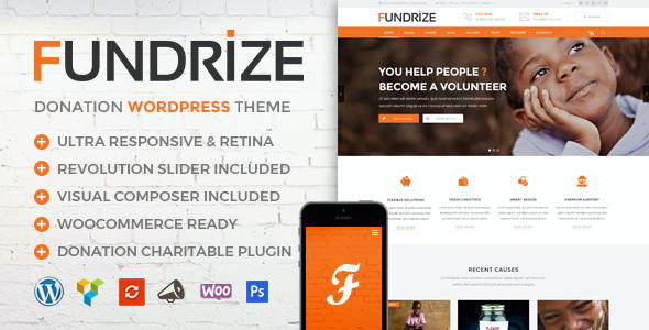 test Fundrize | Responsive Donation & Charity WordPress Theme