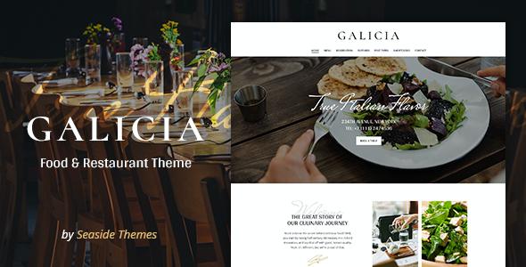 Test du thème WordPress Galicia , découvrez notre avis