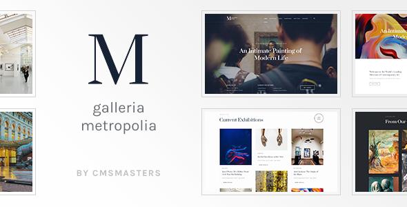 Test du thème WordPress Galleria Metropolia , découvrez notre avis