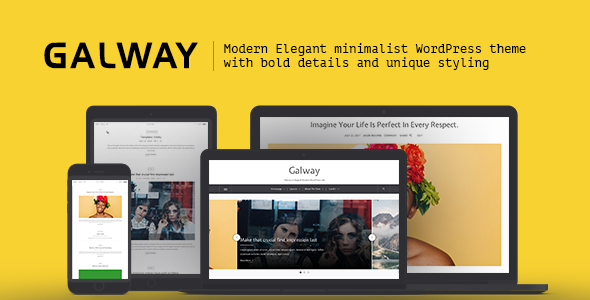 test Galway - A Clean Minimalist WordPress Blog Theme