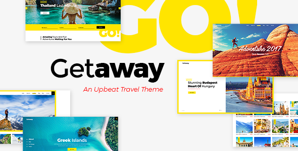 test Getaway - An Upbeat Travel and Tourism Theme