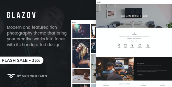 test Glazov - Photography WordPress Theme