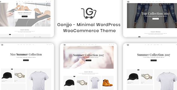 test Gonjjo - Minimal WooCommerce Theme