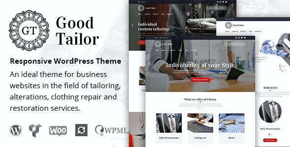 test Good Tailor - Fashion & Tailoring Services WordPress Theme