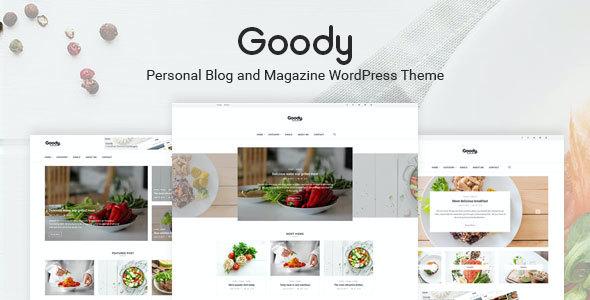 Test du thème WordPress Goody , découvrez notre avis