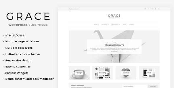 Test du thème WordPress Grace , voici notre avis