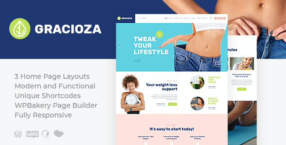 test Gracioza | Weight Loss Blog WordPress Theme