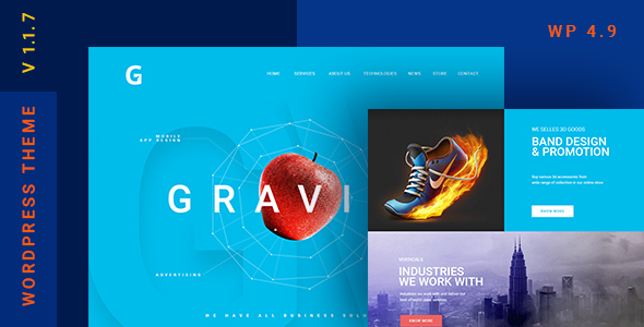 test Gravitify | Multipurpose Business WordPress Theme