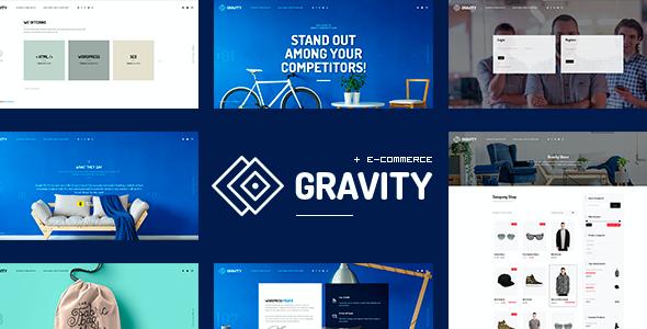 Test du thème WordPress Gravity , voici notre avis