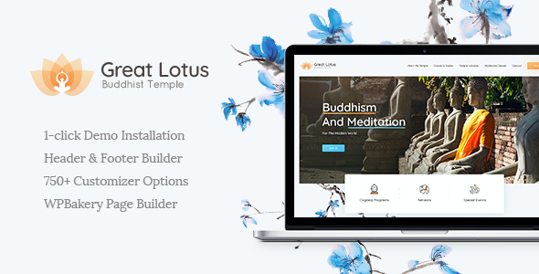 test Great Lotus | Buddhist Temple WordPress Theme