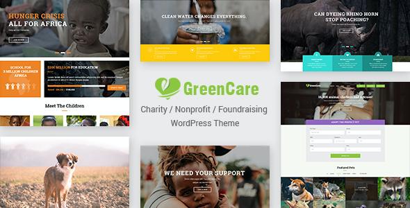 Test du thème WordPress GreenCare , découvrez notre avis