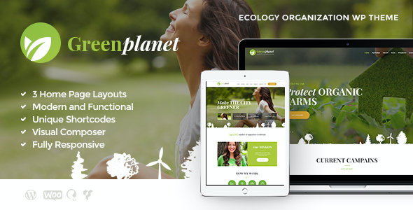 Test du thème WordPress Green Planet , découvrez notre avis