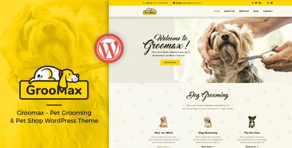Test du thème WordPress Groomax , voici notre avis