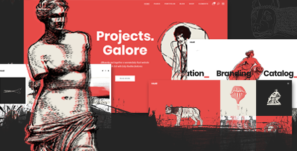 test Haar - A Portfolio Theme for Designers, Artists and Illustrators