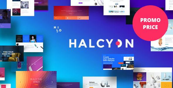test Halcyon - Multipurpose Modern WordPress Theme