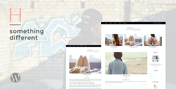 test Hanford - Personal & Clean WordPress Blog Theme