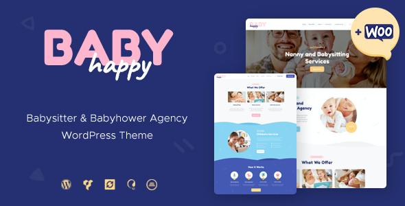 Test du thème WordPress Happy Baby , découvrez notre avis