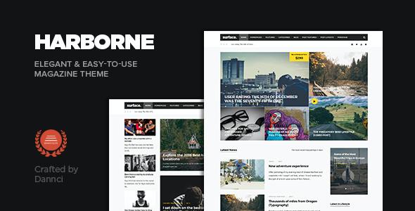 Test du thème WordPress Harborne , voici notre avis