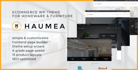 test Haumea - E-commerce WP Theme for Homeware and Furniture