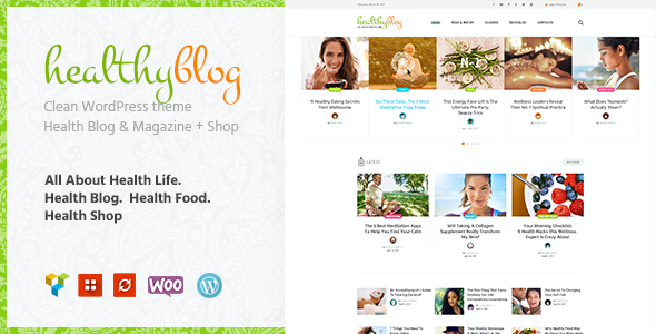 test Healthy Living Blog with Online Store