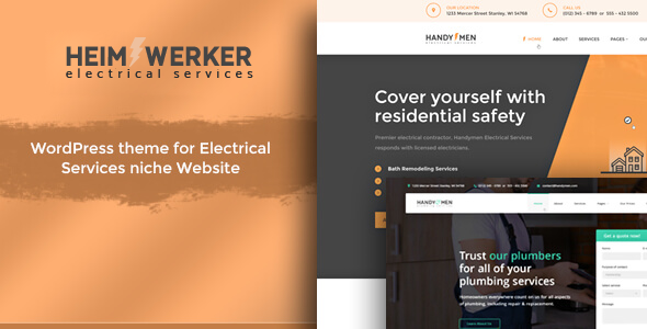 test Heimwerker - Electricity Services WordPress Theme