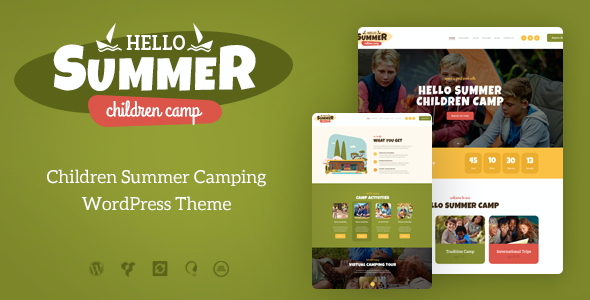 test Hello Summer | Children's Camp WordPress Theme