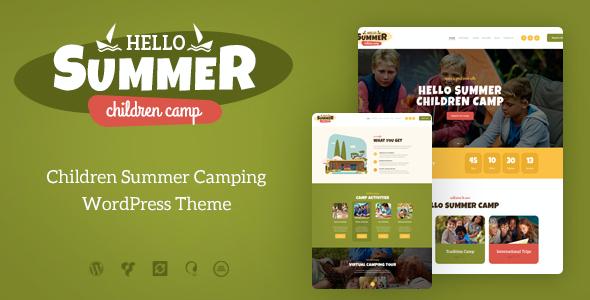 Test du thème WordPress Hello Summer , découvrez notre avis