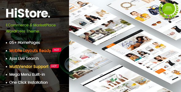 test HiStore - Clean Fashion, Furniture eCommerce & MarketPlace WordPress Theme (Mobile Layouts Included)