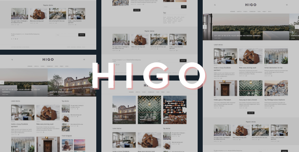 Test du thème WordPress Higo , voici notre avis